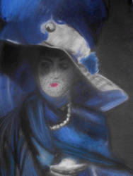 La divina in blue (better colours) by Zmijeee