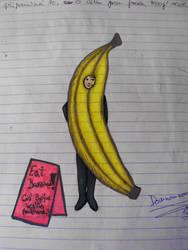Banana Dom by Zmijeee
