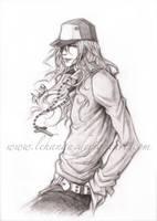 Sweet Pool - Zenya Sketch by Lehanan