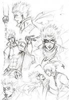 TnC - Takeru doodles by Lehanan