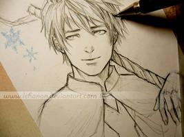 Jack Frost - Hope - Sketch by Lehanan