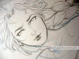 Elsa WIP by Lehanan