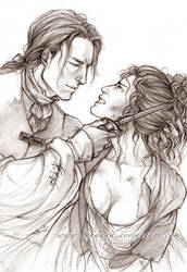 Outlander - Scream for me - Sketch by Lehanan