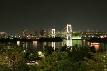 night in tokyo a by weiweihua