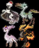 Exclusives: Four Horesemen Deerling by Velnyx