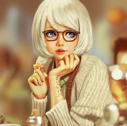 Kyoko Okitegami by YellowLemonCat