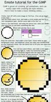 Basic dA Emote tute for GIMP by MissLittlewood
