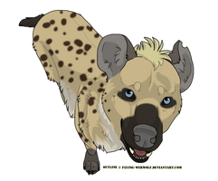 Hyena Batch Commission by NathalieNova