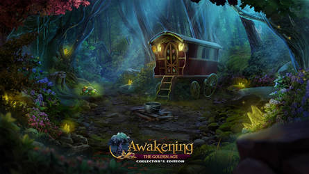 Awakening VII : The Golden Age - Witch's hut by Mardenoir
