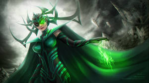 Thor ragnarok : Hela's fanart by Mardenoir