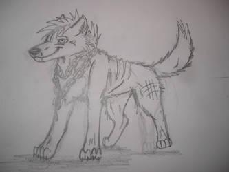 WQ BloodPaw by WolfQuestYamato