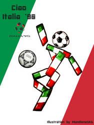 .:World Cup Mascots:. Ciao by MundienaSKD
