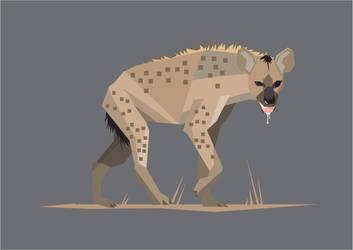Hyena by theblastedfrench