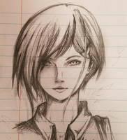 Work Sketch 3: Ichigo by Piyoyomadness