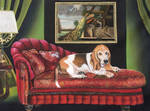 The Basset Hound by atomiccolm