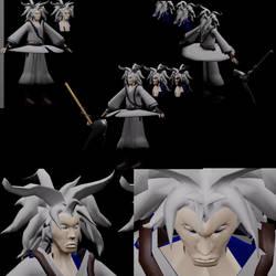 Yoshi 3D mdoel by AerithsSpirit