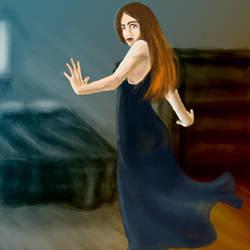 Girl Turning by AerithsSpirit