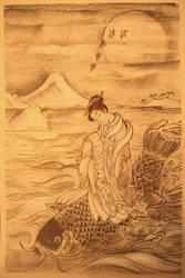 Mitate no Kinko Sketch 5  by mr-macd