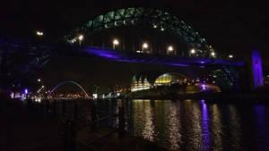 The Tyne Bridge at Night by mr-macd