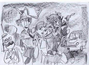 Inspector Gadget meets Stephanie by mr-macd