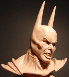 Christian Bale Dark knight mare bust by BaRs0m
