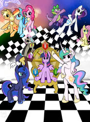 Friendly Hearts: 4.0 REMIX [PONYxKH] by Heedheed