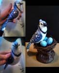 Blue Jay Figurine by ShakeablePanda