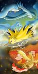 Legendary Birds by ShakeablePanda