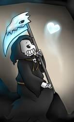 Reaper Sans by ShakeablePanda