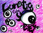 Lunatic cute eyes by NyanRuki