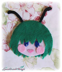 Wriggle - Touhou Project brooch by NyanRuki