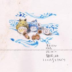 Totoro Village by moyan