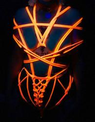 UV Body Harness by Angel666JR