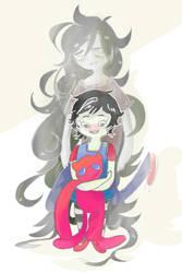 Marceline more like emo vampire hahah ha h ha by Shandelaa