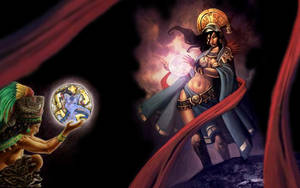 Goddess of the Moon by pitercr