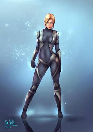 Sci Fi Girl by SK-Vela