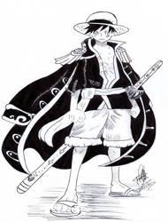 Luffy by JenniferKobayashi