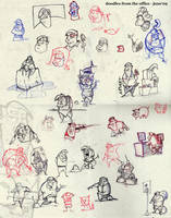 doodles at work-june2009 by riverta
