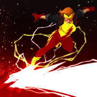 Kid Flash ( Earth 22 ) by ExMile
