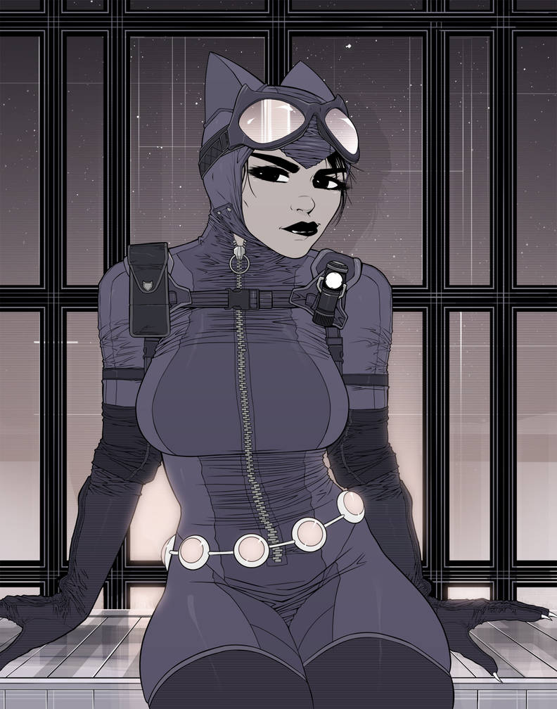Catwoman: All Geared Up by ExMile
