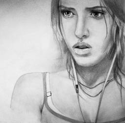 Before the Storm - Tomb Raider by Pencilsketches
