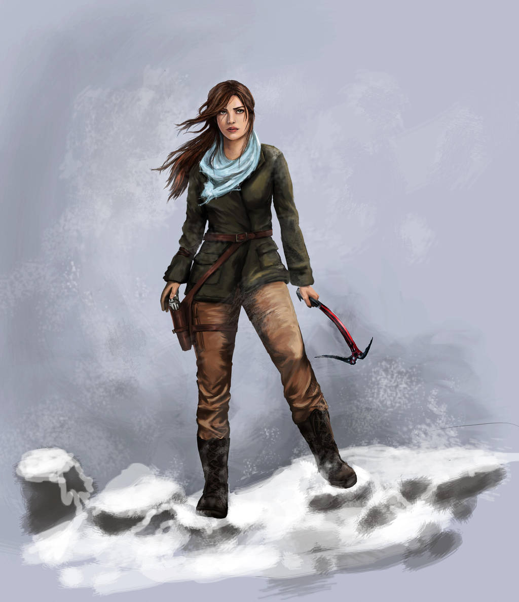 The Rise Of Tomb Raider Wallpaper: Rise Of The Tomb Raider By Pencilsketches On DeviantArt