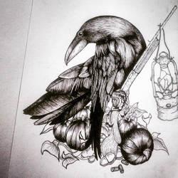 THE CROW by alprada