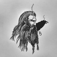 Odin, allfather. by PrincipeMendigo