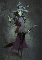The Wicked Witch of the West by JuliaMadrigal