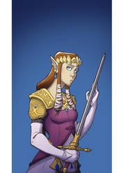Zelda by JuliaMadrigal