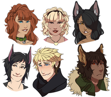HT- New Faces by ShaneseKS