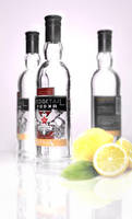 Vodka Product Render by Synct