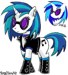 Dj Pon 3 New Cloth by emichaca
