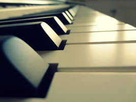 piano keys by NinaEberhard